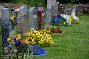 Regler kring gravsättning