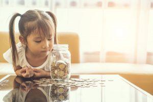 Spara pengar till barn