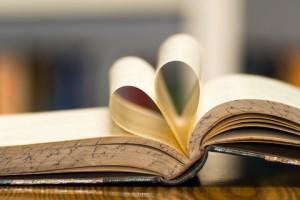 bok studera hjärta