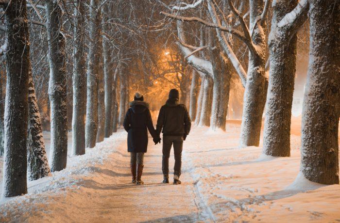 Att känna sig trygg när man promenerar hemåt